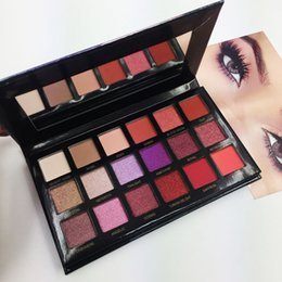Wholesale Makeup Shimmer Eye Palette - In stock 18 Color eyeshadow Beauty Desert Dusk eyeshadow palette Shimmer Matte Eye shadow Pro Eyes Makeup Cosmetics best quality Palette