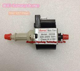 Wholesale piston pressure pump - 33DSB Electromagnetic pump 220V 16W Steam iron Medical device pump self-priming pump micor solenoid pump~