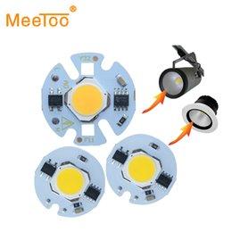 Wholesale Smart Bead Ball - LED Light Beads COB Chip Ball for LED Lamp Bulb 9W 7W 5W 3W 220V Smart IC LED Lights for DIY Spotlight Cool Warm White