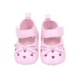 Wholesale Todder Boys - Wholesale- Baby Girls Shoes First Walkers Todder Infant Girl Prewalker Flower Soft Sole Shoes