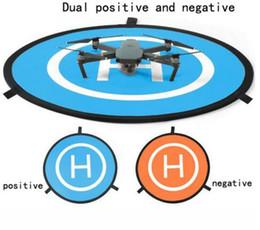 Moda Taşınabilir Park Önlük 75 cm Hızlı kat DJI phantom 3 4 Mavic Pro Drone için İniş Ped / DJI Spark ile ücretsiz DHL kargo nereden boscam fpv tedarikçiler