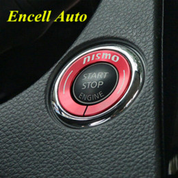 Interrupteur d'allumage Décoration Porte-clés Sticker Couvre-Clé Pour Nissan Nouveau Murano X Trail Qashqai Murano Teana 2015 2016 Accessoires ? partir de fabricateur