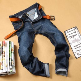 Wholesale Long Coat Designs For Men - 2016 Brand Medorslee Directly Canister Self-cultivation Men's M Robin Mens Blue Jeans Pants Designs For Men Fashion