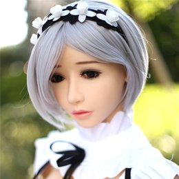 Wholesale life size robot - 158cm Real Silicone Sex Dolls Robot Japanese Anime Full Love Doll Realistic Toys For Men Big Breast Sexy Mini Vagina Adult Life