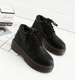 Wholesale Female Boots For Sale - New high increase female Martin boots sales ankle boots for women leather casual clothes shoes flat shoes ladies boots