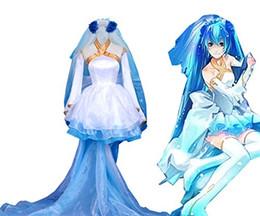 Wholesale Anime Wedding Dress Costume - Lolita Wedding Dress Hallween Cosplay Costume