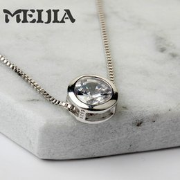 Wholesale Mini Glass Lockets - Wholesale- 2017 100% 925 Sterling Silver Mini DIY Charms Bead Necklace Fit Original Necklace Floating Locket Glass Pendant Berloque
