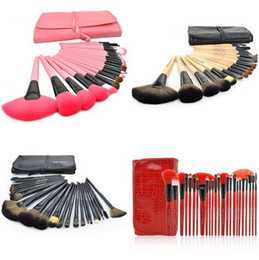 Wholesale Tool Sets For Cheap - 24pcs Brand Makeup Brushes Tools Professional Cosmetics Kits Eyeshadow Foundation Powder Brush Sets MAKE UP FOR YOU Cheap Price