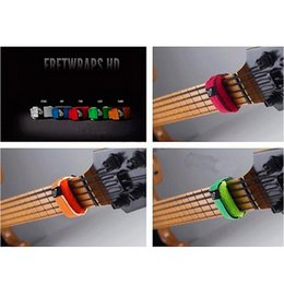 Wholesale Guitar Gears - Wholesale- Free shipping Gruv Gear FretWraps Bass Guitar String Dampeners Electric Guitar String Mute Single Pack