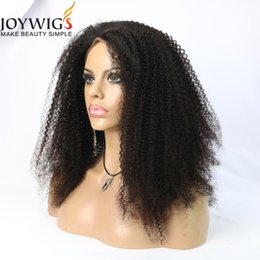 Wholesale Ombre U Part Wigs - Glueless Full Lace Human Hair Wigs 150 Density Kinky Curly 100% Unprocessed Brazilian Virgin Hair Lace Front u part human hair wigs
