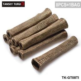 titanio Sconti Tansky - Titanium Vulcan Lava Protector Sleeve Spark Plug Wire Boots 8 cilindri TK-GT08TI hanno in magazzino