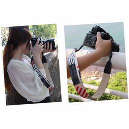 Wholesale Dslr Leather - In stock! Universal Camera Shoulder Neck Strap Leather Belt For SLR DSLR Digital Camera Newest