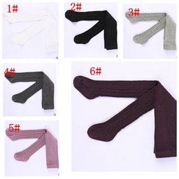 Wholesale Baby Hoses - Baby Hosiery Pantyhose Pants Stockings Baby Girl Socks Hose Tights Warm Tights Stockings Pantyhose Pants Socks KKA2409