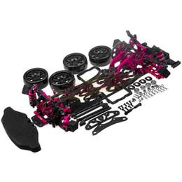 Wholesale Drift Kit - 1 10 Alloy & Carbon SAKURA D4 RWD Drift Racing Car Frame Body Kit #KIT-D4RWD