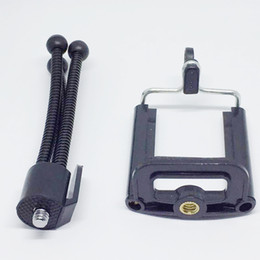 suporte de filmadora Desconto Universal Flexível Mini Tripé Portátil Polvo Suporte Suporte de Montagem Monopé Para Telefones Celulares Câmeras de Vídeo