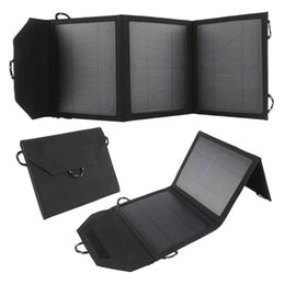 Wholesale Digital Batteries Charger - 10W Electronics Camping Portable Solar Charger Bag Foldable Solar Panel Power USB Battery Charger for Mobile Phones, Iphone ,Digital Devices