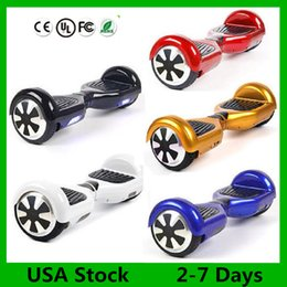 Wholesale Usa Wheels Self - Hoverboard no Bluetooth Scooter USA Stock Drift Board Two Wheels 6.5 inch Smart Scooters Electric Self Balancing Wheel Skateboard 3-7 Days