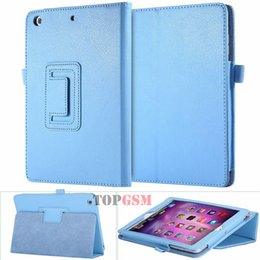 Wholesale Ipad Book Stand Case - Hot Deluxe Flip Stand Leather Case For iPad 2 3 4 Fashion Wallet Lychee Book Pattern Flexible Smart Stand Covers For iPad 4 3 2 Free Ship