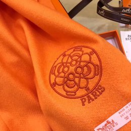 Wholesale Pashmina Shawls Plain Color - Designer brand scarf New fashion shawls 35 * 180 ms pure color
