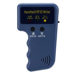 Wholesale Rfid Reader Copier - Handheld 125KHz EM4100 RFID Copier Writer Duplicator Programmer Reader