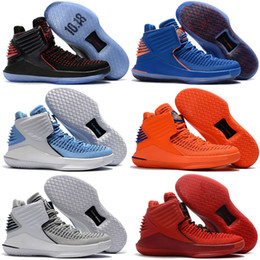 Wholesale Cheap Beach Shoes - Cheap New Retro 32 High XXX2 XXXII Beach Mens Basketball Shoes Real leather Wholesale Men Retros 32s Sports Sneakers Trainers shoes US 7-12