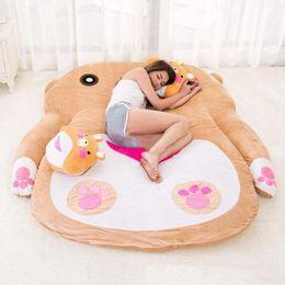Wholesale Beanbag Adult - 200cm x 170cm Lovely Anime Bear Beanbag Plush Cartoon Sleeping Bag Bed Sofa Carpet Mattress for Kids and Adults