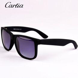 Wholesale Glasses Resin - 2017 Summer Hot Fashion Sunglasses men sunglasses women brand designer 54mm sun glasses acetate lunette de soleil oculos de sol masculino