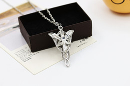 Wholesale Twilight Wholesale - The Lord of the rings Elves princess jewelry Twilight star necklace Fashion beautiful necklace Free shipping