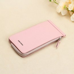 Wholesale Luxury Chocolate Gifts - New Design Women Wallets Zipper Wallet Card Holder Long Design Light PU Leather Purse Luxury wholesale gifts