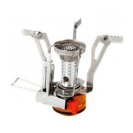 Wholesale Cookout Burner - S5Q Picnic Cookout Gas Furnace Burner Outdoor Camping Hiking Stainless Steel Stove AAAFYV