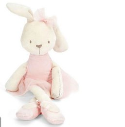 Wholesale Bunny Pillow - Cute Adorable 42cm Large Soft Stuffed Animal Bunny Rabbit Toy Baby Girl Kid Pillow Pets Plush Doll