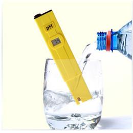 Wholesale Acid Pen - LCD Display Pocket Pen Water PH Meter accurate Digital Acid Tester PH-009 IA 0.0-14.0pH for Aquarium Pool Water Laboratory