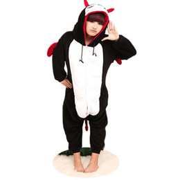 Evil Costumi Cosplay Pocket Monsters Pigiama Cartoon Amine Costume da notte Costume Felpa con cappuccio Adulto Onesies Devil Party Dress Cartoon Devil tuta cheap evil hoodie da cattiva felpa fornitori