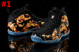 Wholesale One Galaxy - 2017 Hot Sale One Penny Hardaway Retro 1 Mens Basketball Shoes Wolf Galaxy 2 for Top quality Fashion Sports Sneakers Size 8-13