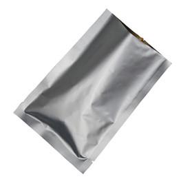 20 * 30cm 50pcs / lote sac en aluminium pur blanc argenté de poche, sac de stockage de nourriture étanche à l'eau ? partir de fabricateur