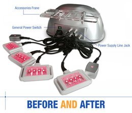 Wholesale Lipo Laser System - Diode Lipo Laser Fat Removal Body Slimming Spa Beauty Machine 650nm Dual Wavelenghth System