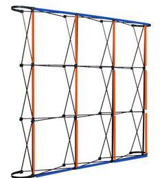 Çiçekler duvar çerçeve alüminyum alaşım düğün arka planında dekorasyon için rame 230 cm * 230 cm Tüpler ağ çerçeve WT067 güçlendirmek için cheap frames aluminium nereden alüminyum çerçeveler tedarikçiler