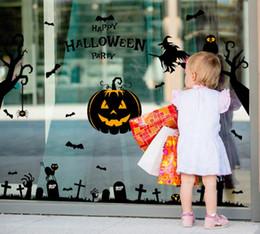 Autocollants Halloween fournitures de décoration chambres PVS mur et verre autocollants ne seront pas casser votre mur 100pcs / lot pour la vente en gros ? partir de fabricateur
