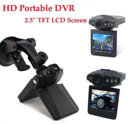 Wholesale Memory Sd 4g - HD Portable Car DVR with 2.5'' TFT LCD Screen Camera IR DVR Cam CCTV Night Vision 6 LEDs MJPG LS-DVV198F