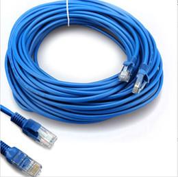 Wholesale Ethernet Rj45 Patch Cable - 73cm Blue 65FT RJ45 For CAT5E For CAT5 Ethernet Internet Network Patch LAN Cable Cord For Computer Laptop