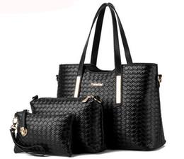Wholesale Good Quality Handbag Brands - Charm in hands new women shoulder bag famous designer luxury brands women bag set good quality medium women handbag set