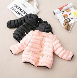 Wholesale Girls Sweet Coat - New 2016 Kids Outerwear Girls Winter Jacket Children Coat Girl Sweet Coat new brand free shipping
