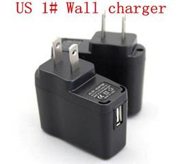 Wholesale Ego Power Adapter - Electronic cigarette USB AC Power Wall Adapter Charger EU US for ego evod ugo TVR 30 eGonow vape mods battery ecigarettes ecigs ECig