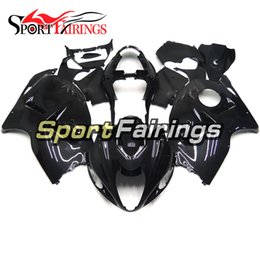 99 hayabusa injection mold Coupons - Fairings For Suzuki GSXR1300 Hayabusa 97 98 99 05 06 07 1997 - 2007 ABS Injection Motorcycle Fairing Kit Bodywork Cowling Pearl Black