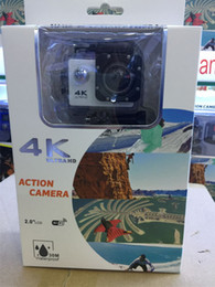 Wholesale cheapest wifi card - F60 4K Sport Action Camera V903 WIFI Waterproof Video Camera 16MP 12MP 1080P 60FPS 2.0 Inch LCD Cam Diving Recorder Cheapest 4 wave lens