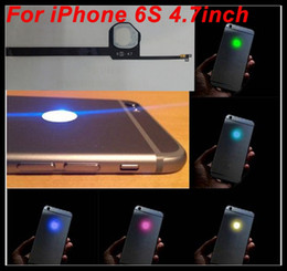 Wholesale Led Apple Logo Iphone - For iPhone 6S 4.7 LED Logo DIY Luminescent LED Light Glowing Logo Mod Panel Kit For iphone6S Back Housing