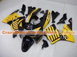 Wholesale Honda Cbr919 Fairing - 3 Free gifts New ABS motorcycle Fairing Kit For HONDA CBR900RR 919 1998 1999 CBR919RR 98 99 919 CBR919 Bodywork set black yellow