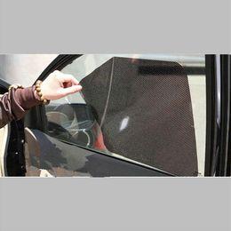 Wholesale Window Shade Film - Car auto accessories Curtain 4pcs per set Windshield Stickers Sun shade sticker UV Protection Car Side Window Film 38 x 42cm