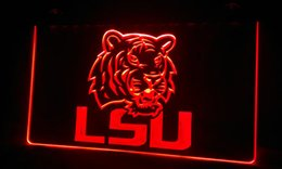 Wholesale Neon Football Signs - LS296-r lsu-tigers-football-Neon Light Sign