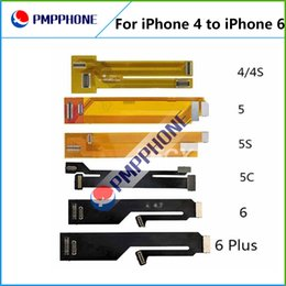 Wholesale display touch screen tester - touch screen LCD display Extension Tester Test Flex Cable for iPhone 4 4S 5 5C 5S 6 6 plus Extended Testing
